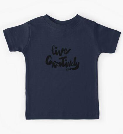 Live Creatively : Light Kids Tee