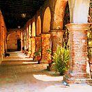 Mission San Juan Capistrano California 2 by Dana Roper