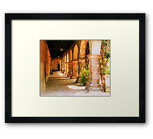 Mission San Juan Capistrano California 2 Framed Print
