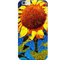 Vincent's Heart - The Sun Flower iPhone Case/Skin