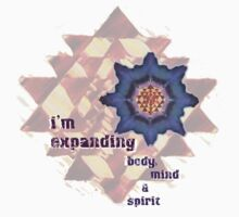 i'm expanding body, mind and spirit by sharon allitt