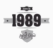 Born in 1989 Kids Clothes