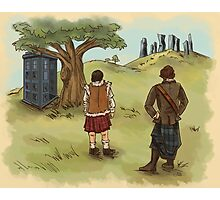 The 2 Jamies- Outlander/DrWho Photographic Print