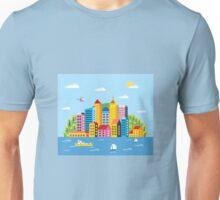 City illustration Unisex T-Shirt