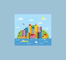 City illustration Unisex T-Shirt