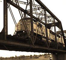 freight train. by Cecilia Clifford
