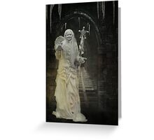 Ice Maiden Greeting Card