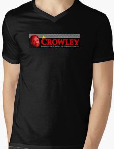 All you can eat at Crowley's - Supernatural Mens V-Neck T-Shirt