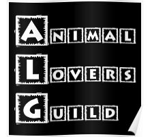 animal lovers guild Poster