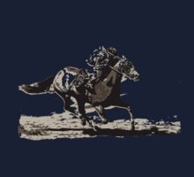 Horse Number Six One Piece - Long Sleeve