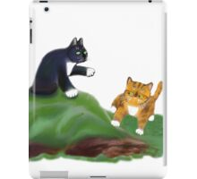 Kittens Playing King-of-the-Hill iPad Case/Skin