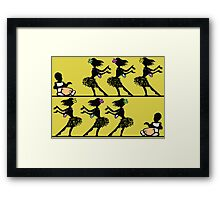 Hula Dance. Framed Print