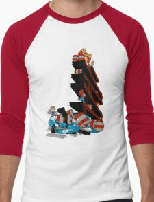Barrels Of Kong Men's Baseball ¾ T-Shirt