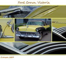 Ford Crown Victoria Collage by Paola Svensson