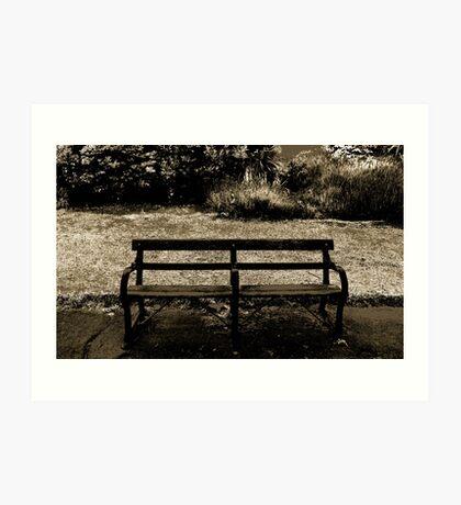 Is this seat taken? Art Print