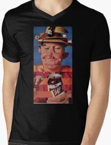 Pop Glitch Mens V-Neck T-Shirt