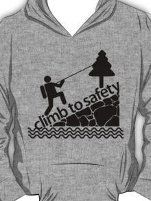 Climb To Safety Grey T-Shirt