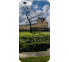 The Louvre and Tuileries iPhone Case/Skin