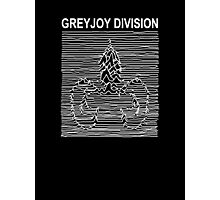 Greyjoy Division (Game of Thrones Shirt) Photographic Print