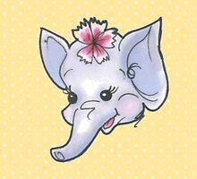 Kitsch Critter Enid the Elephant by gemsville