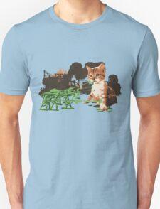 Army VS. Kitten Unisex T-Shirt