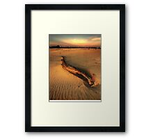 Wyperfeld twilight Framed Print