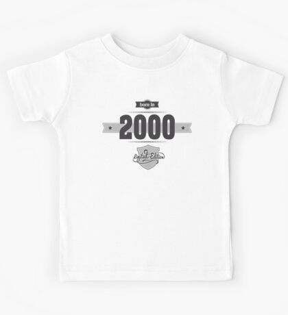 Born in 2000 Kids Tee