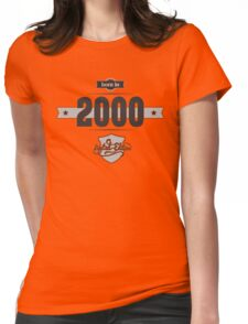 Born in 2000 Womens Fitted T-Shirt