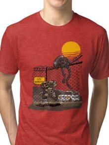 Illegal Aliens Tri-blend T-Shirt
