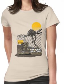 Illegal Aliens Womens Fitted T-Shirt