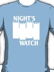 Castle Black ( Night's Watch / Game of Thrones shirt) White Logo T-Shirt