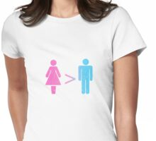 Equation? :-) Womens Fitted T-Shirt