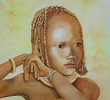 Himba Girl by Debbie Schiff