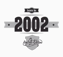 Born in 2002 Kids Clothes