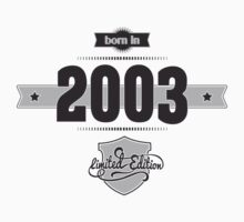 Born in 2003 Kids Clothes