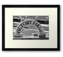 Home Field Framed Print