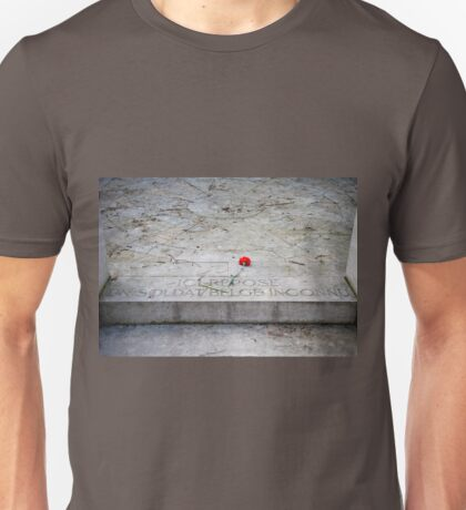 Tomb of an unknown soldier Unisex T-Shirt