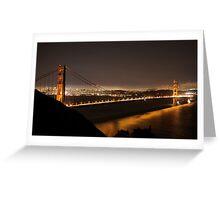 A night in San Francisco Greeting Card