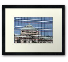 State of Reflection Framed Print