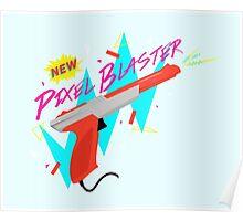Pixel Blaster Poster