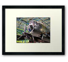 The Avro Lancaster - R.A.F. Museum Hendon Framed Print
