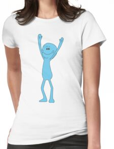 Rick and Morty: Mr. Meeseeks Womens Fitted T-Shirt