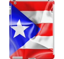 Puerto Rico Flag iPad Case/Skin