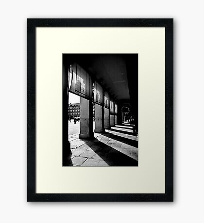 Plaza d'Espagna Framed Print