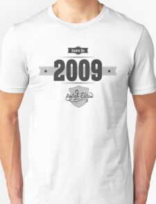 Born in 2009 Unisex T-Shirt