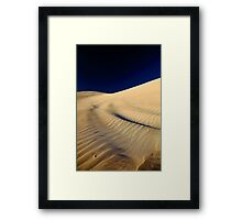 Lancelin Sand Dune - Western Australia  Framed Print