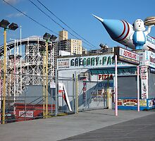 Coney Island Astroland by gailrush