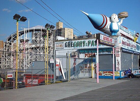 Coney Island Astroland by gailrush
