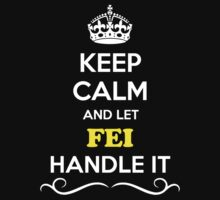 Keep Calm and Let FEI Handle it by gradyhardy