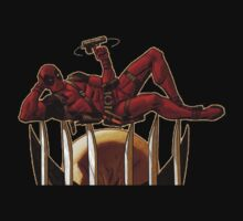 Deadpool pose by Gento
